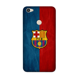 FCB Football Case for Oppo F7  (Design - 123)