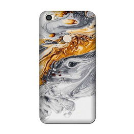 Marble Texture Mobile Back Case for Oppo F7  (Design - 310)