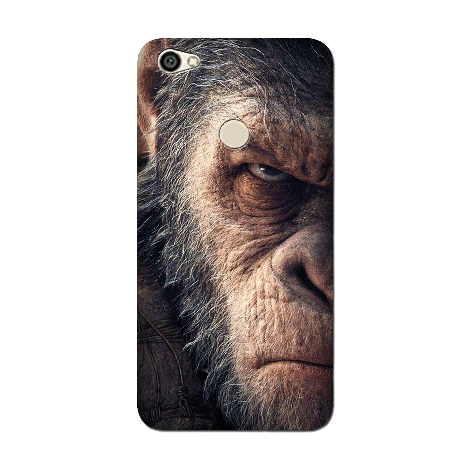 Angry Ape Mobile Back Case for Oppo F5 (Design - 316)