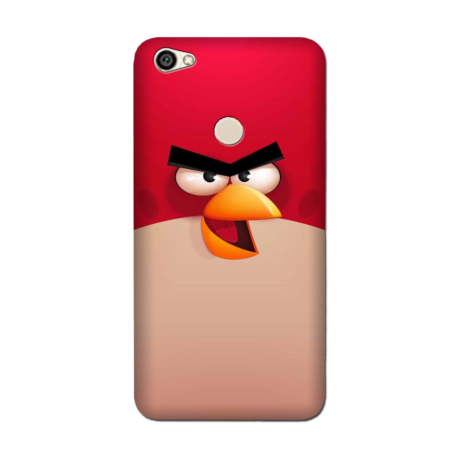 Angry Bird Red Mobile Back Case for Oppo F5 (Design - 325)