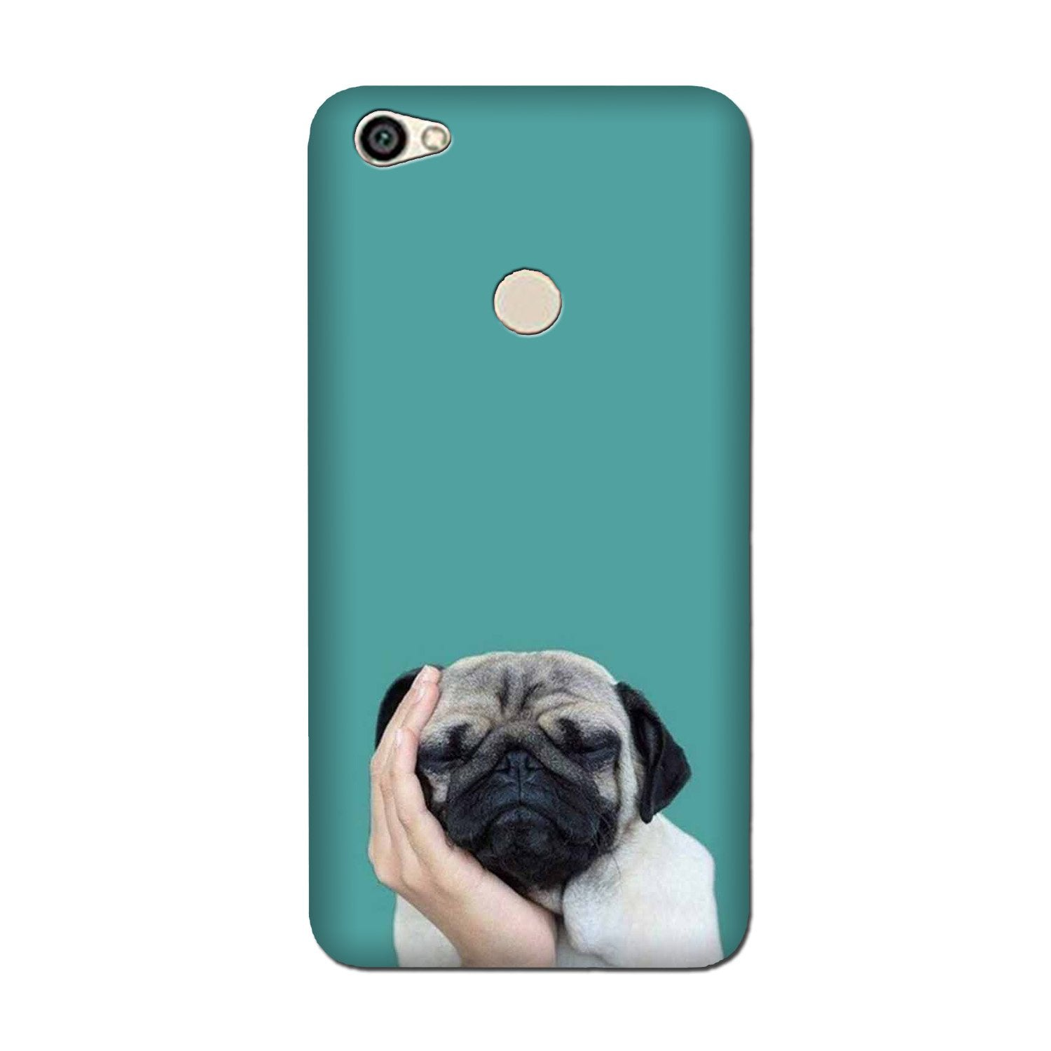 Puppy Mobile Back Case for Oppo F5 (Design - 333)