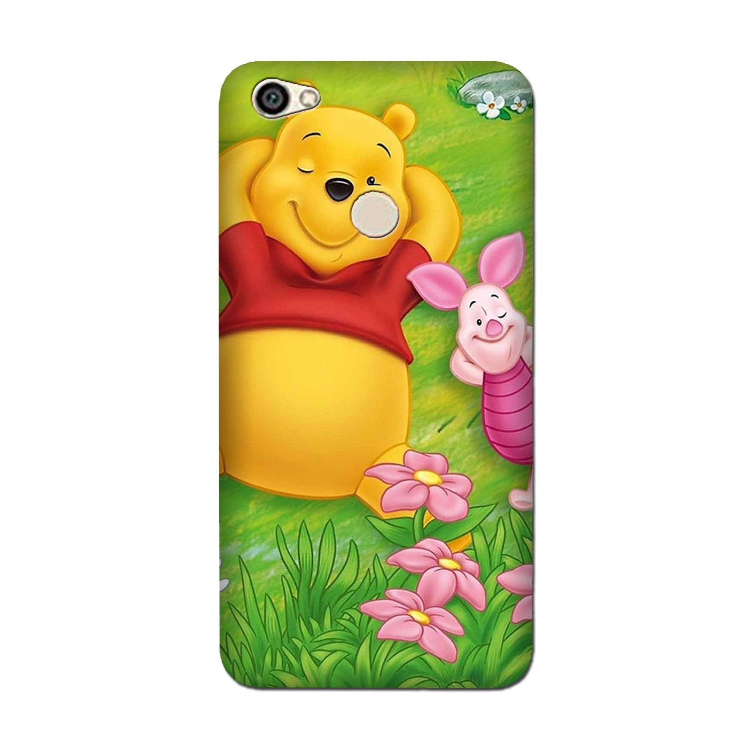 Winnie The Pooh Mobile Back Case for Oppo F5 (Design - 348)