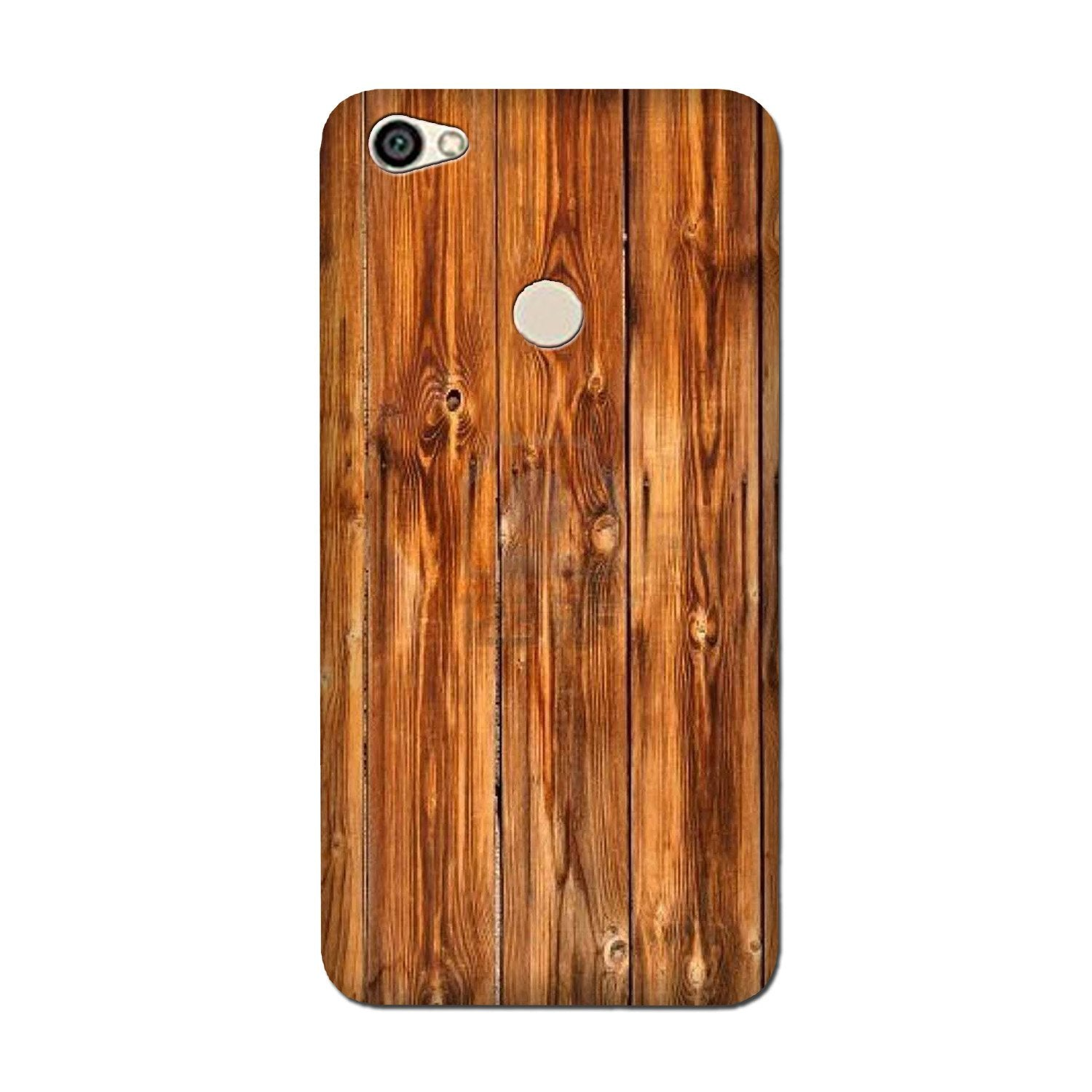 Wooden Texture Mobile Back Case for Oppo F5 (Design - 376)