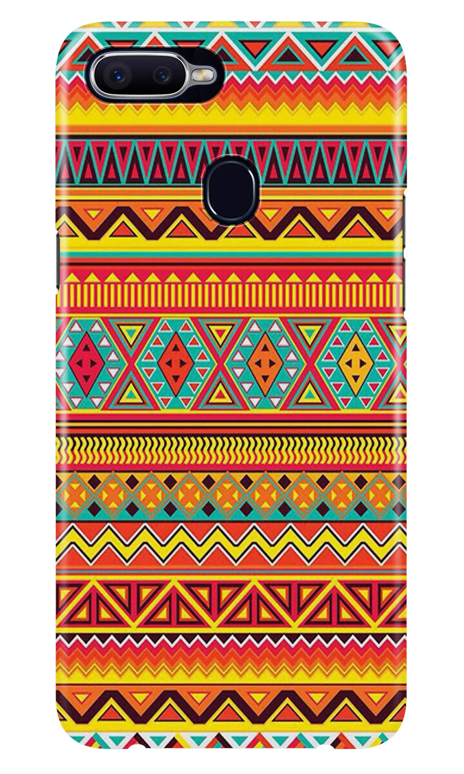 Zigzag line pattern Case for Realme 2