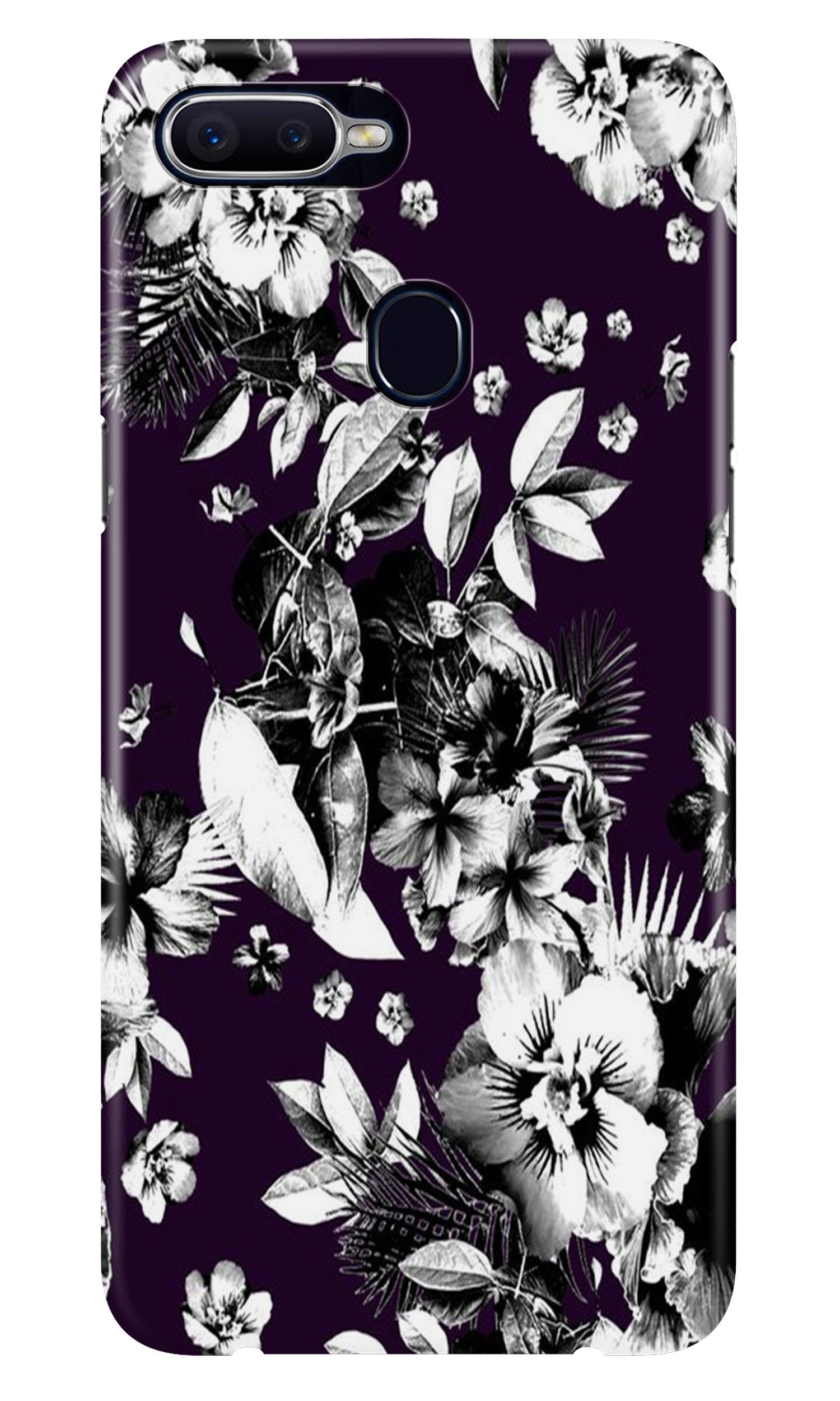 white flowers Case for Realme 2