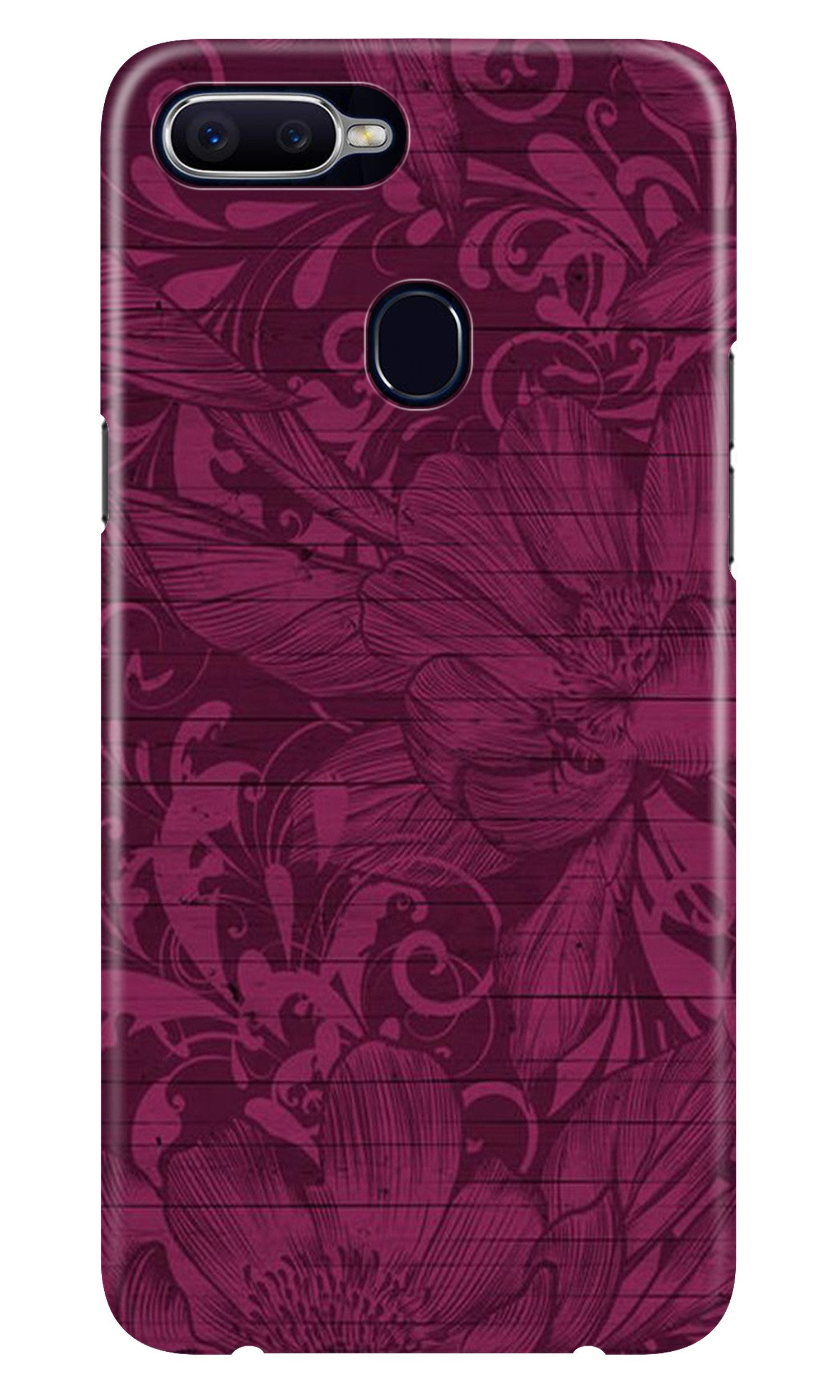 Purple Backround Case for Realme 2