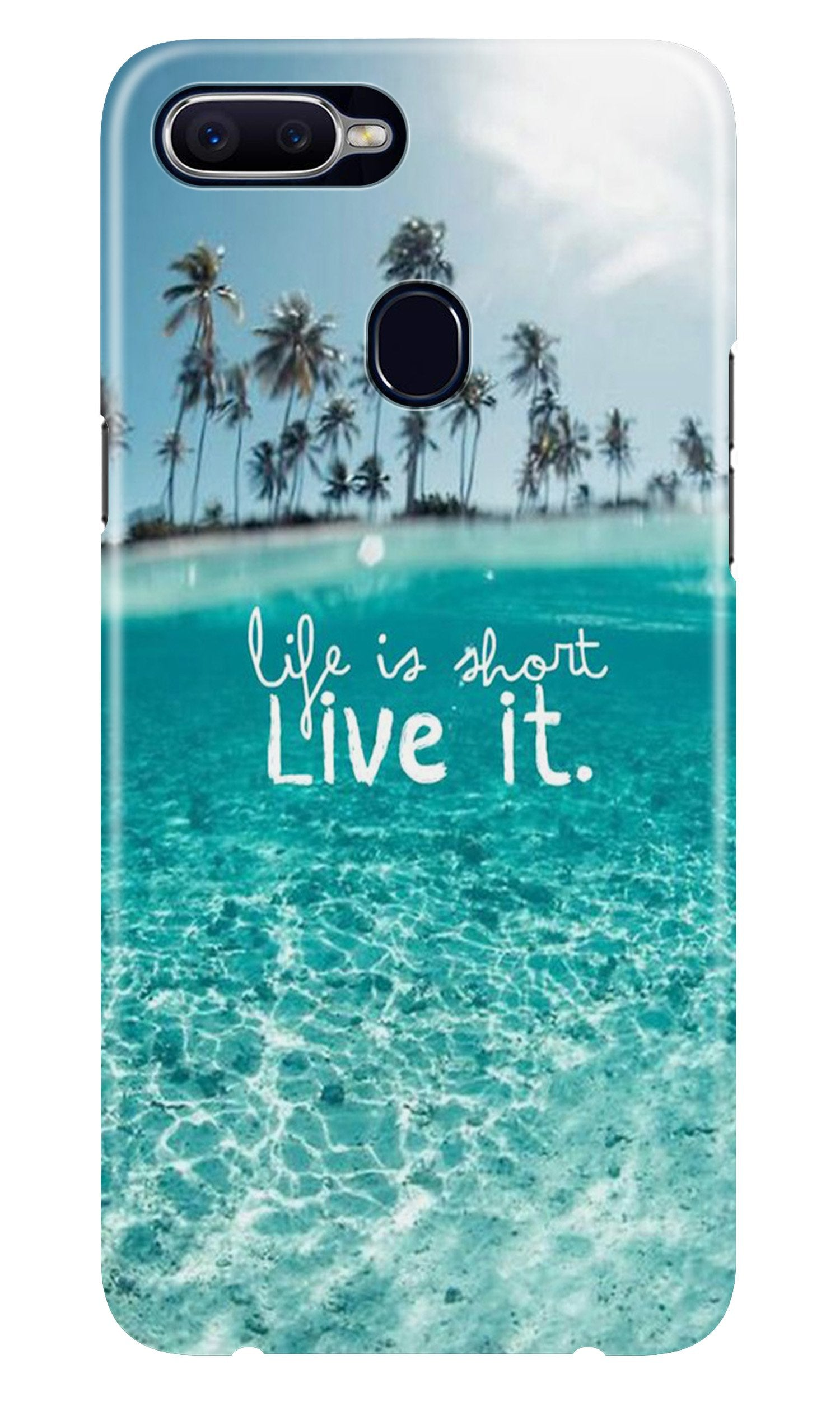 Life is short live it Case for Realme 2
