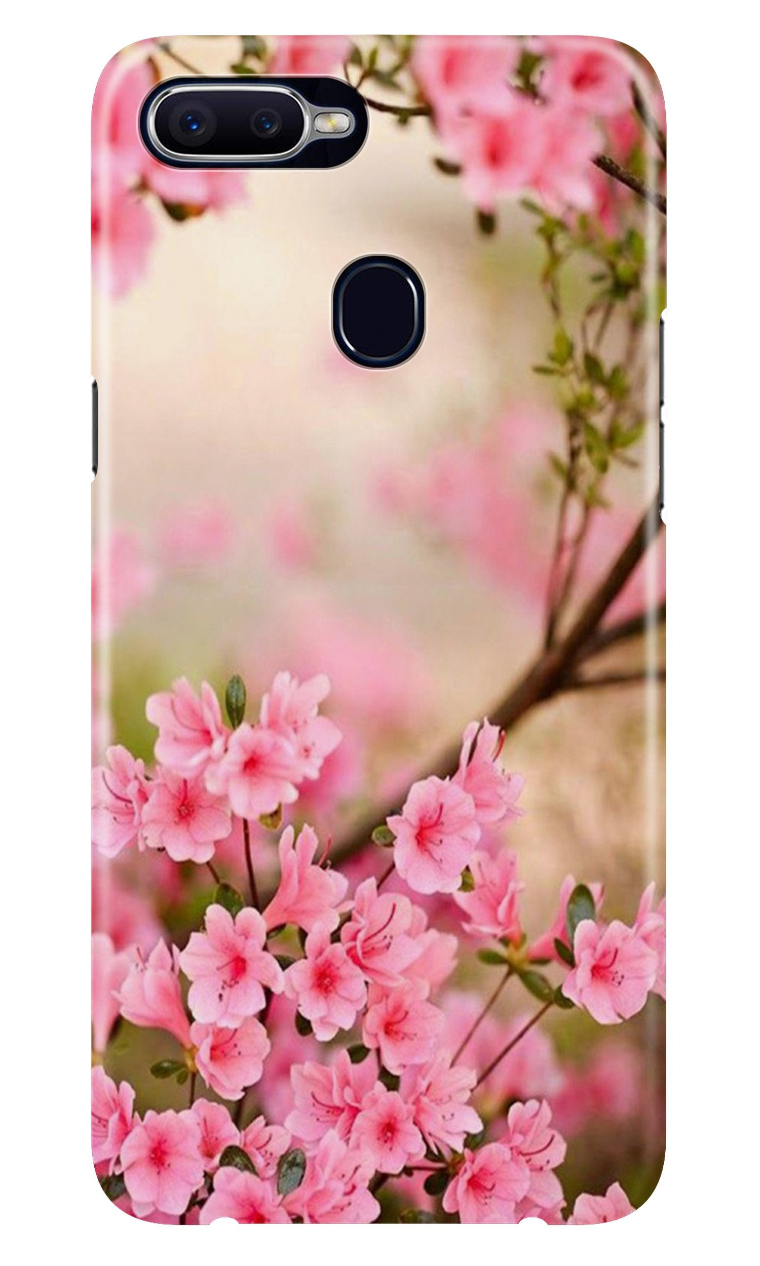 Pink flowers Case for Realme 2