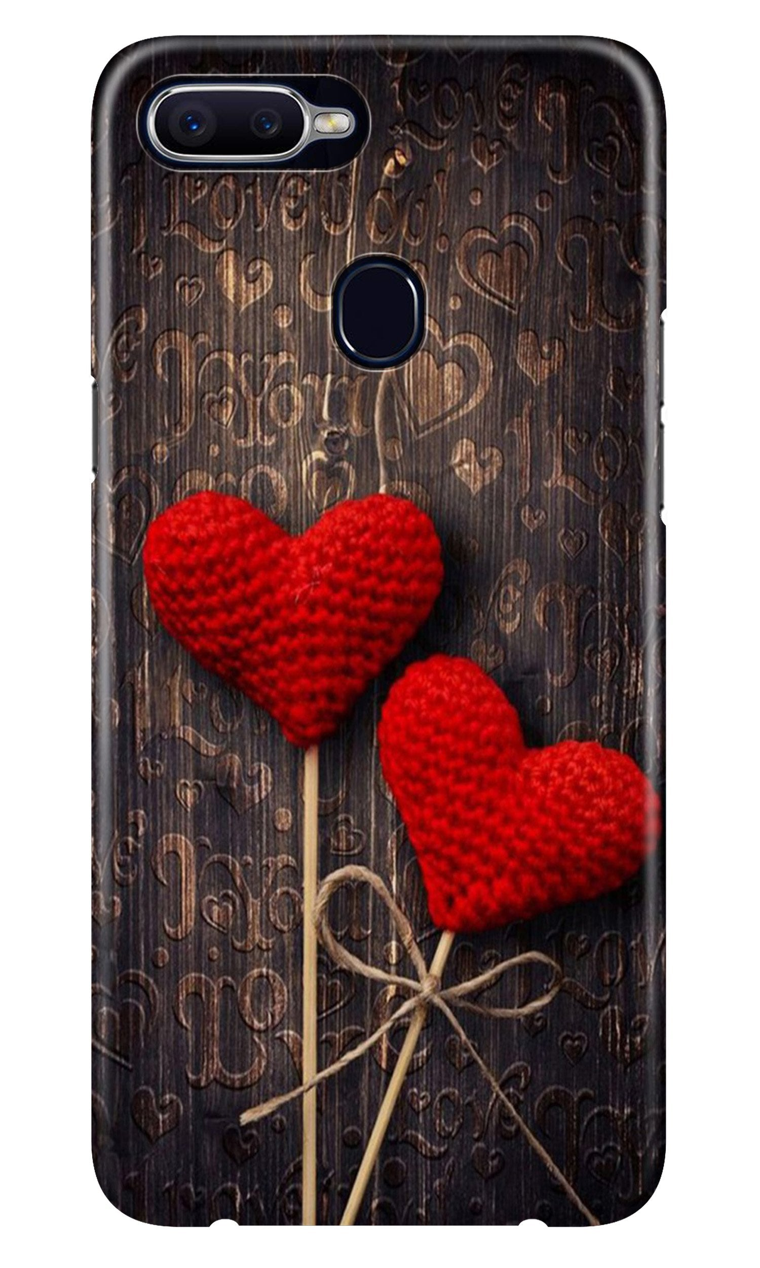 Red Hearts Case for Realme 2