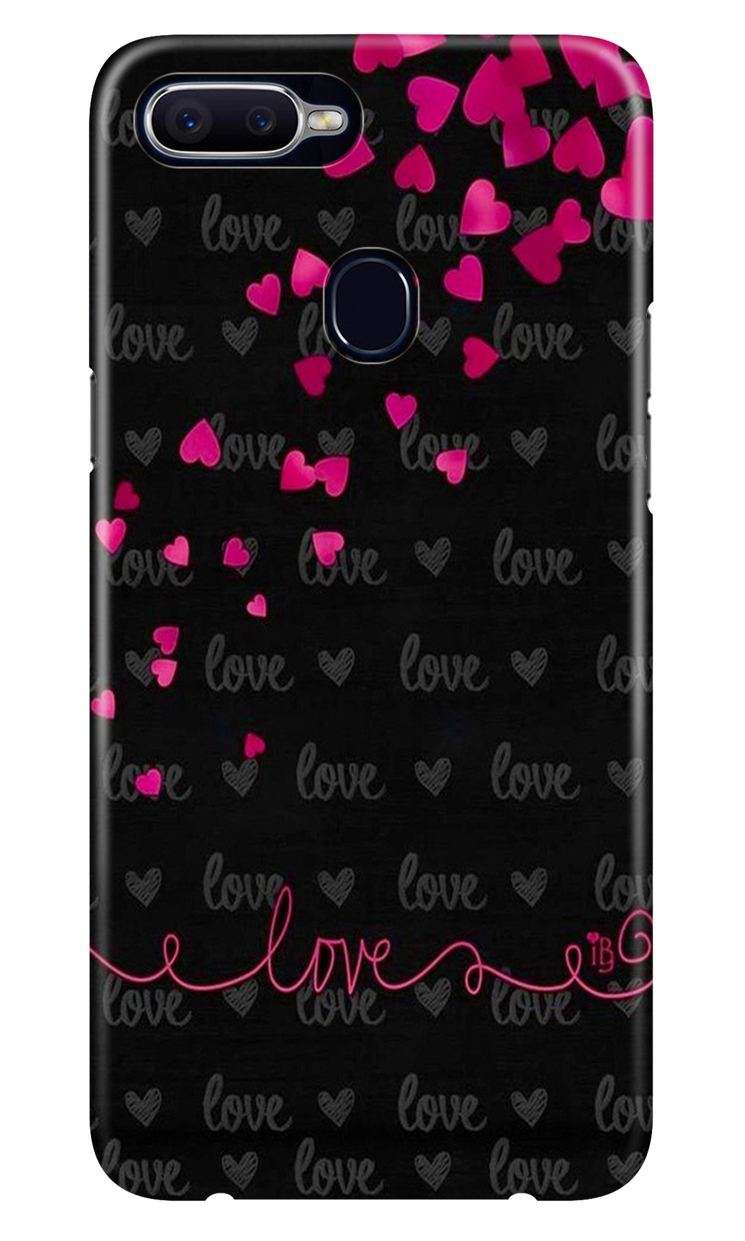 Love in Air Case for Realme 2