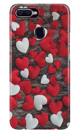 Red White Hearts Case for Realme 2  (Design - 105)