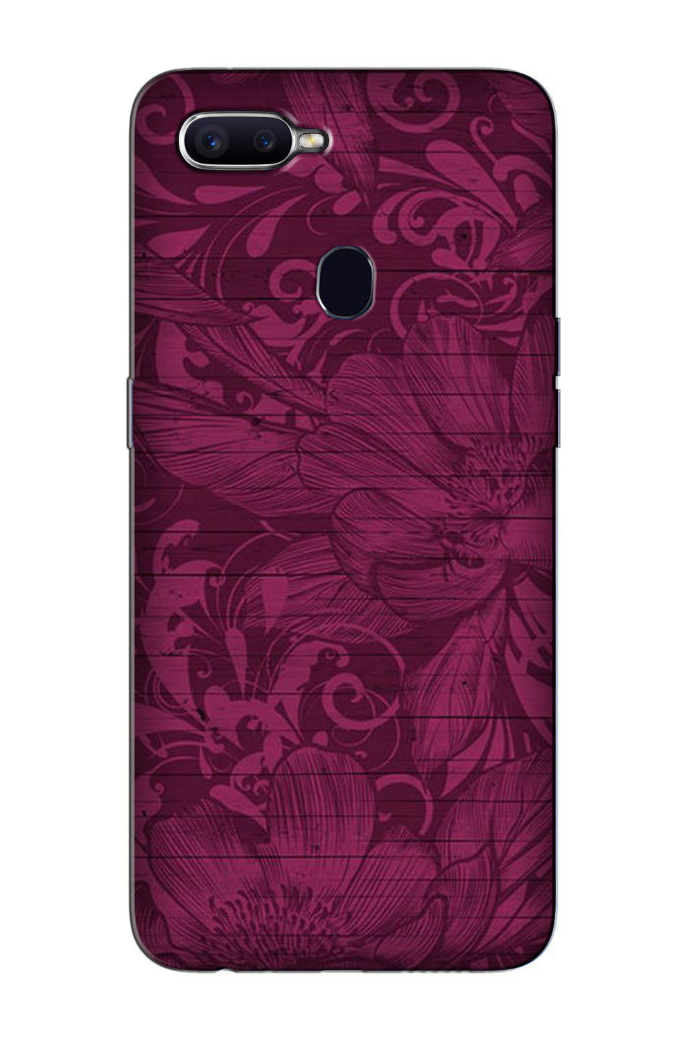 Purple Backround Case for Oppo F9 Pro