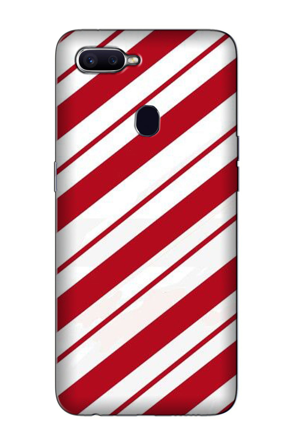 Red White Case for Oppo F7