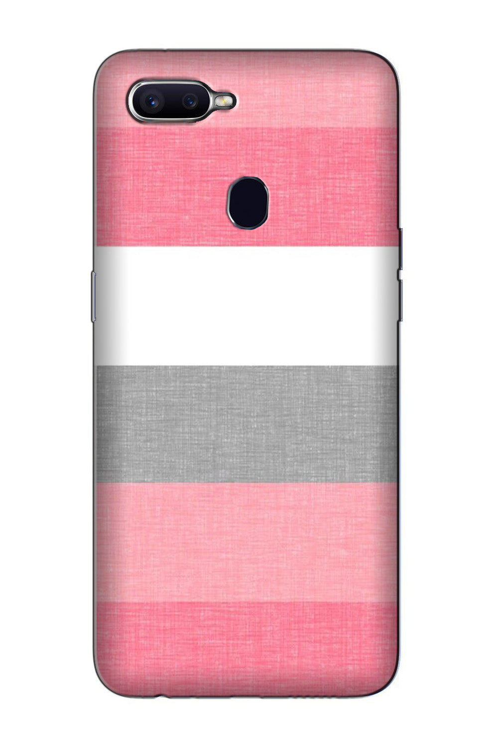 Pink white pattern Case for Oppo F7