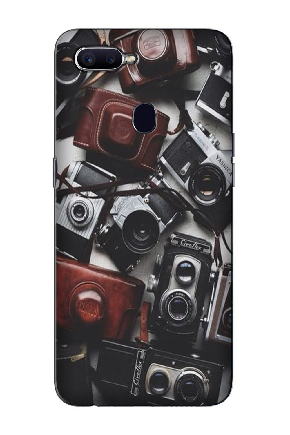 Cameras Case for Oppo F7