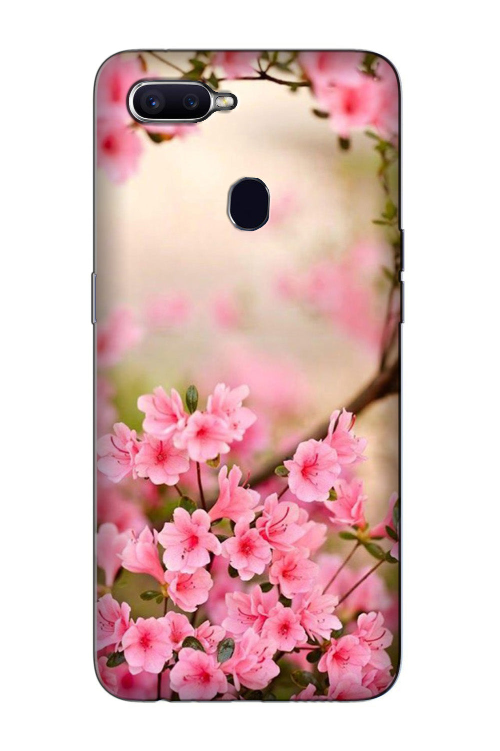Pink flowers Case for Oppo F7