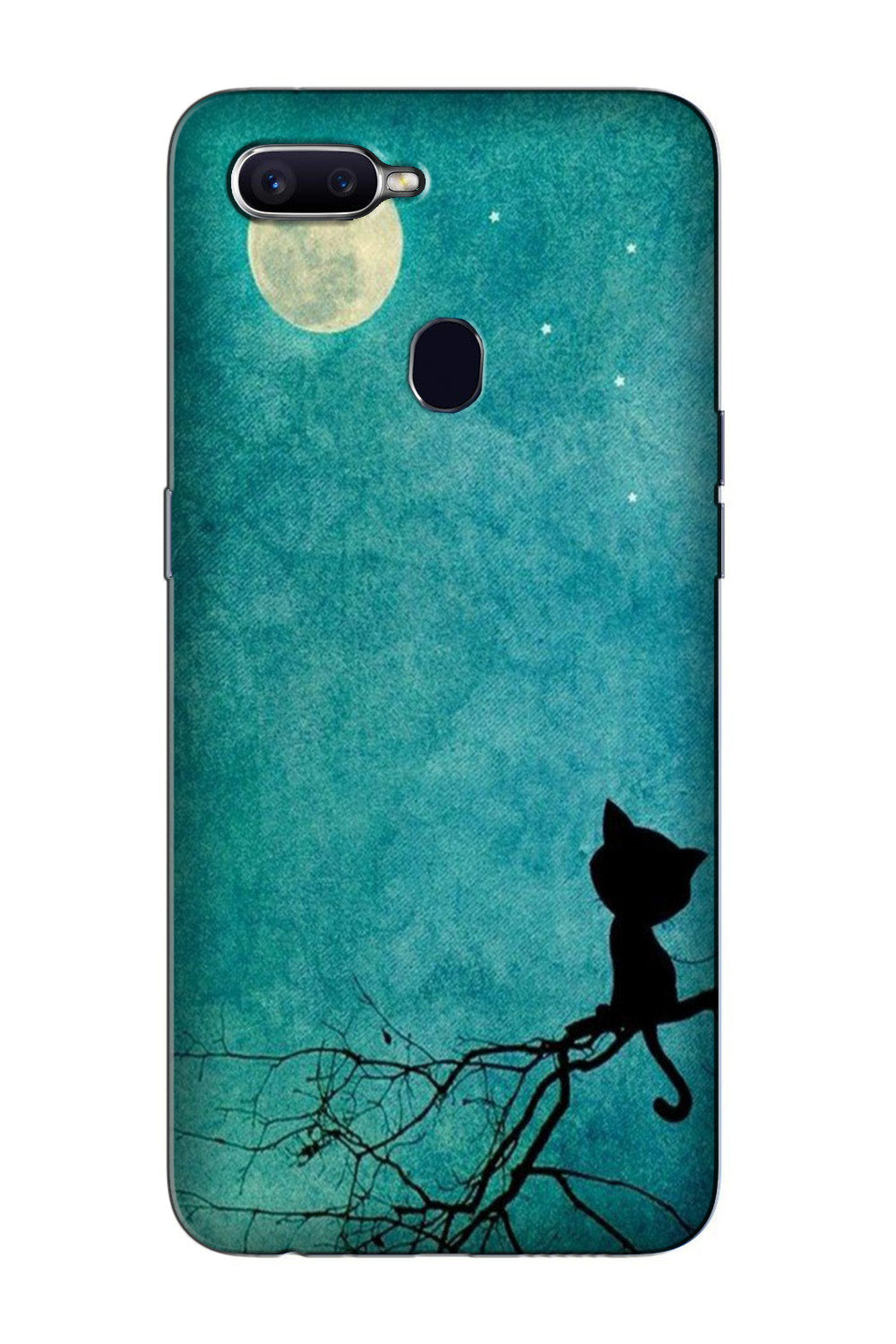 Moon cat Case for Oppo F9 Pro