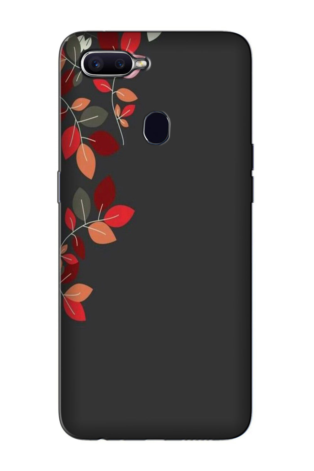 Grey Background Case for Oppo F7