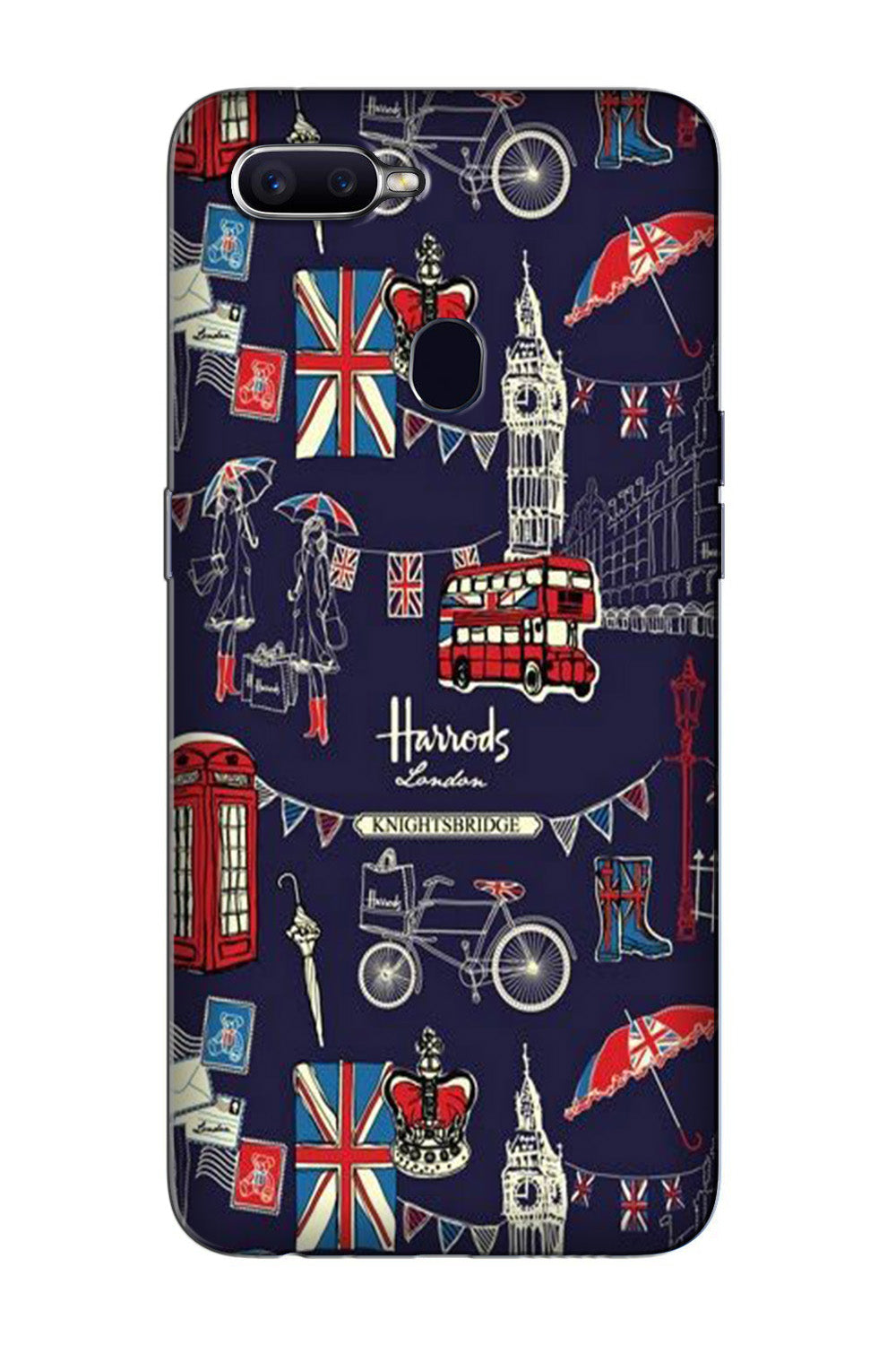Love London Case for Oppo F7