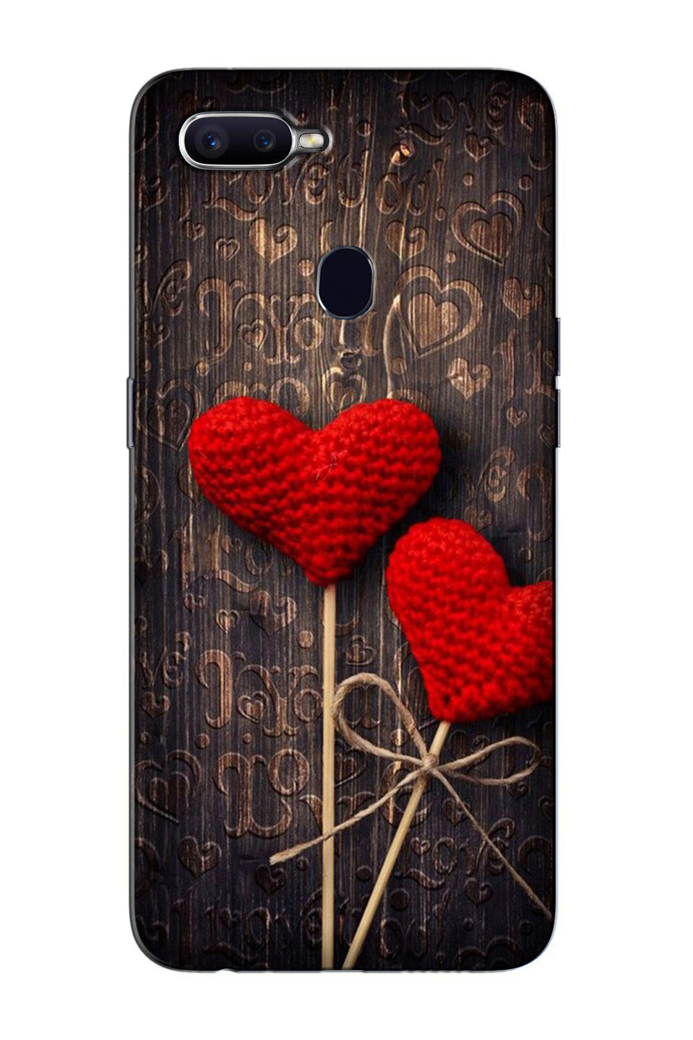 Red Hearts Case for Oppo F7