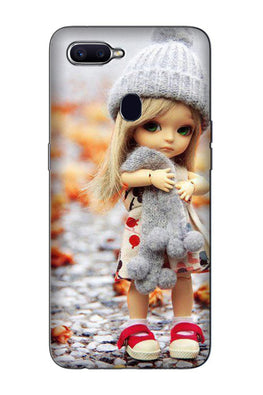 Cute Doll Case for Oppo F9 Pro