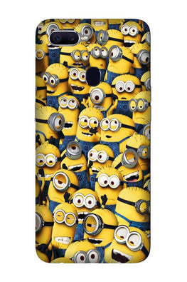 Minions Case for Oppo F9 Pro  (Design - 126)