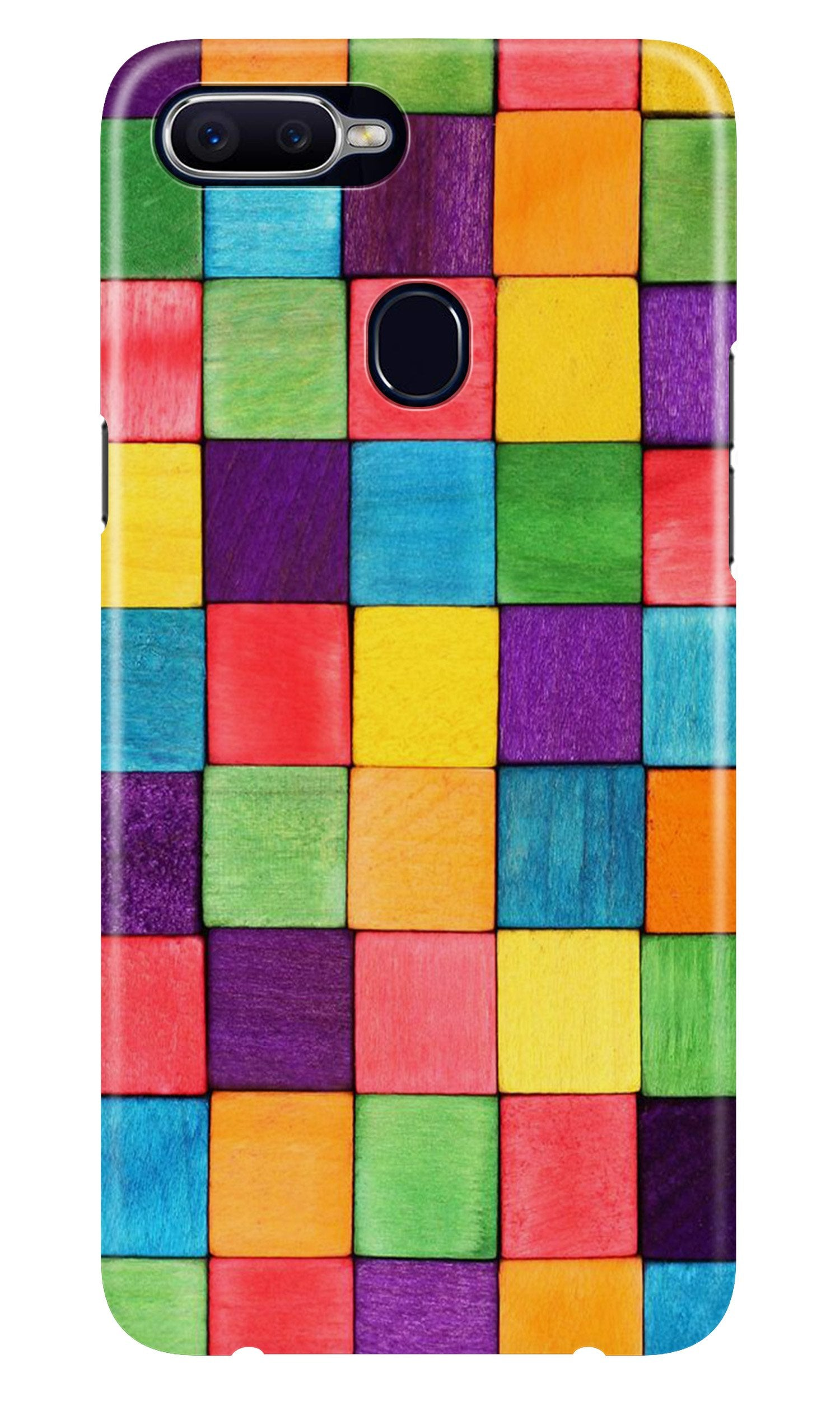 Colorful Square Case for Vivo Y83 (Design No. 218)