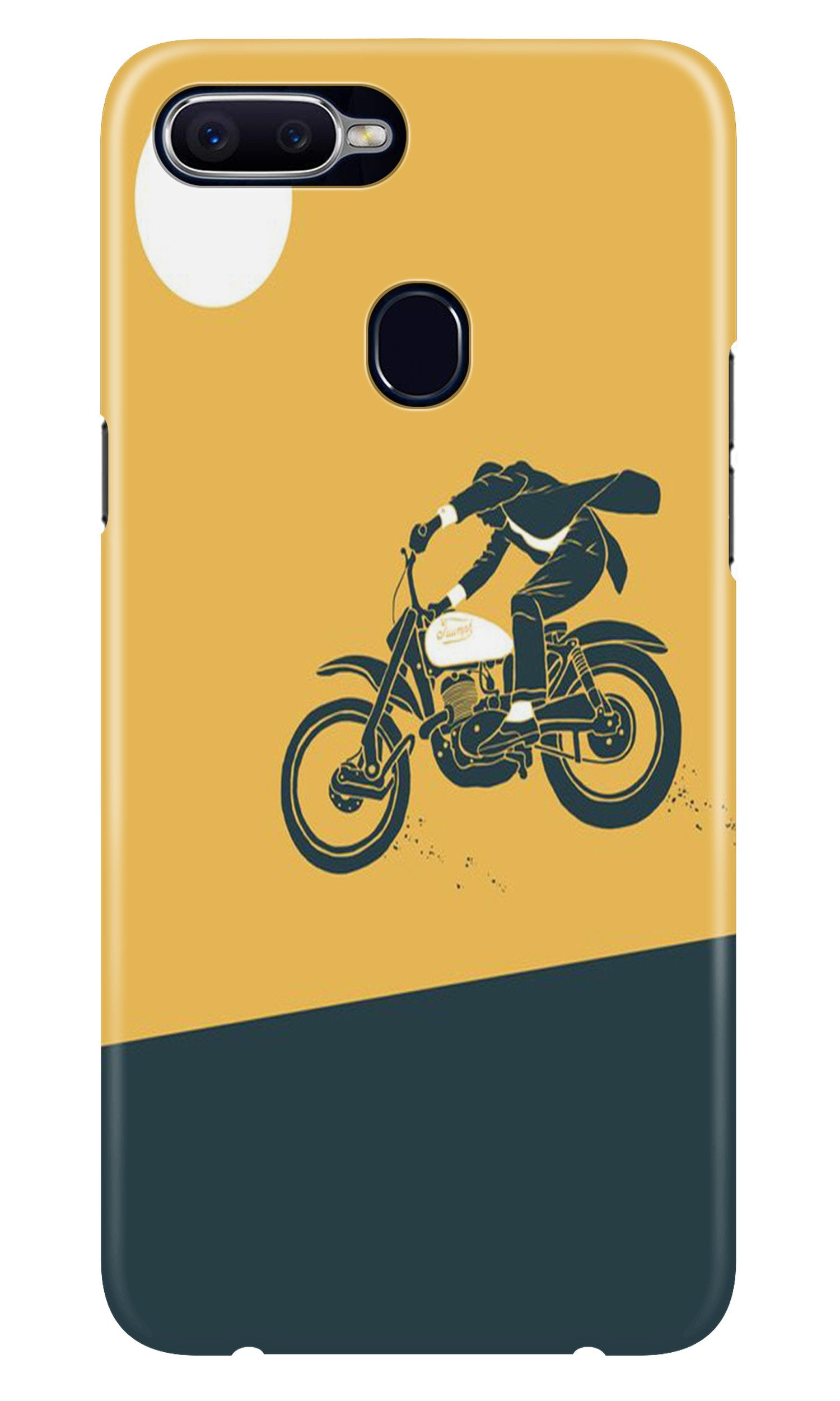 Bike Lovers Case for Oppo A7 (Design No. 256)