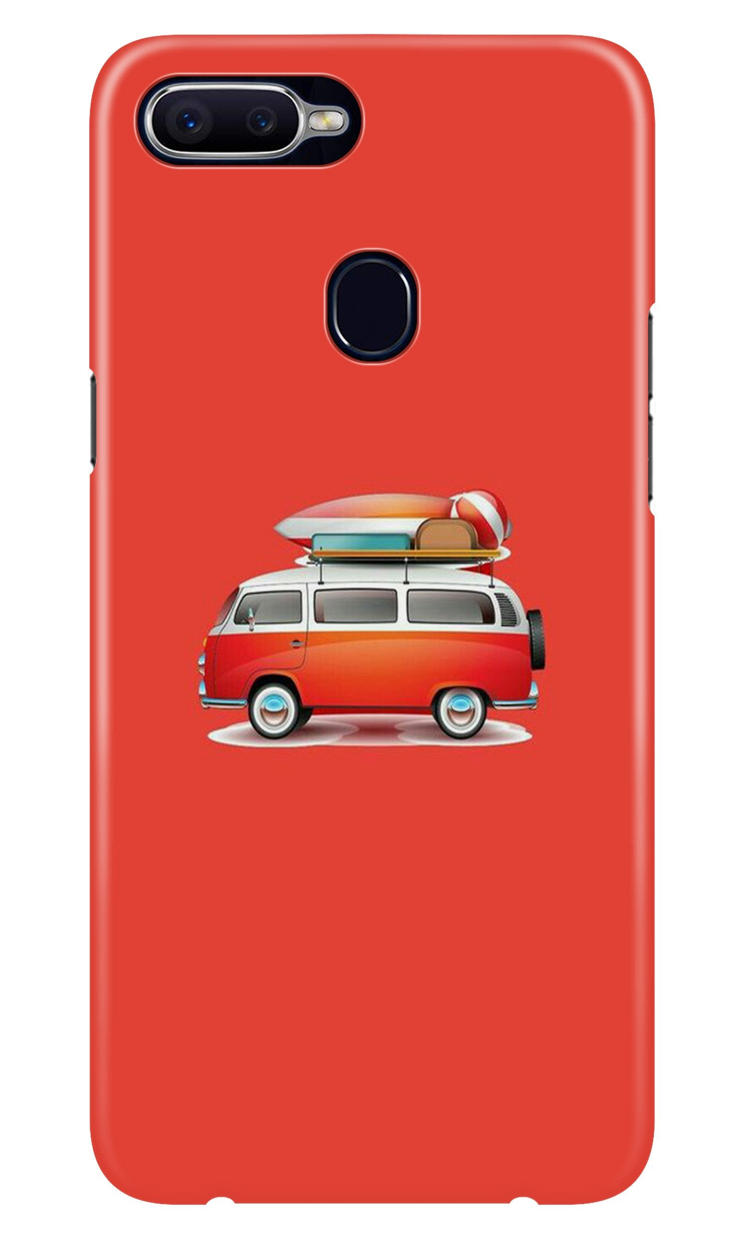 Travel Bus Case for Realme 2 Pro (Design No. 258)