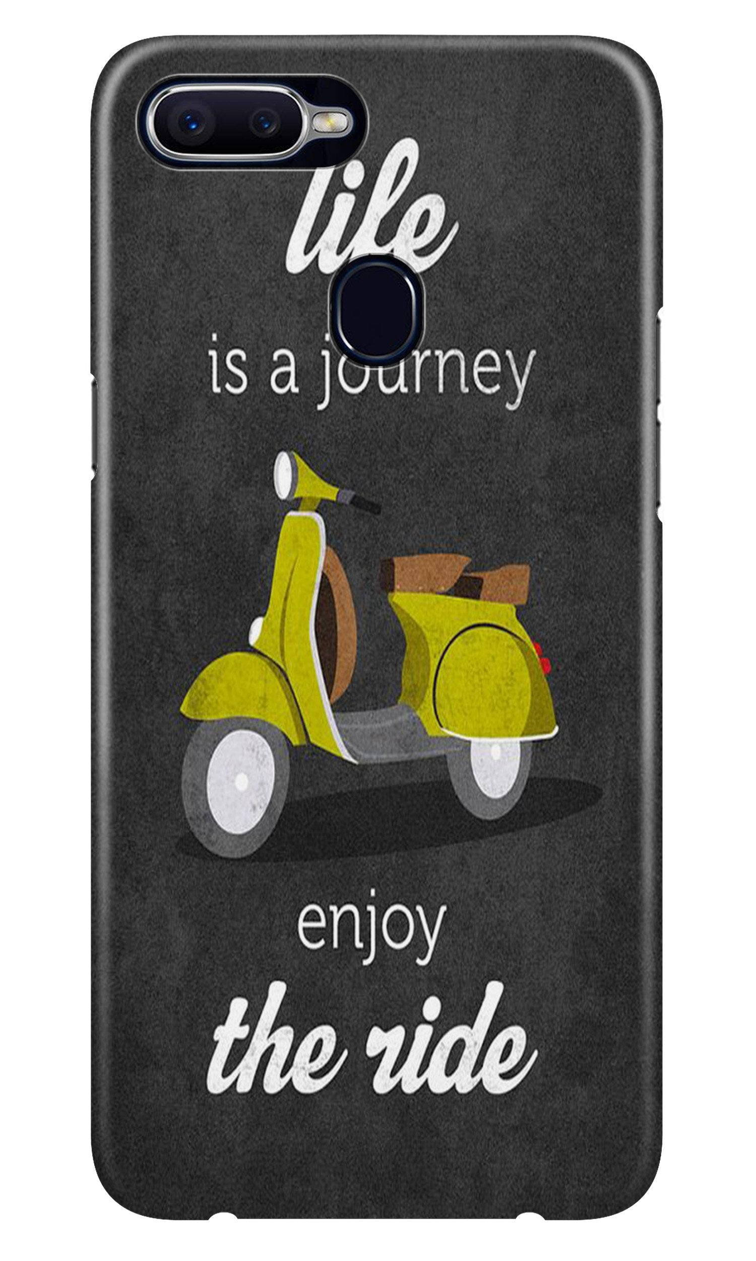 Life is a Journey Case for Oppo A7 (Design No. 261)