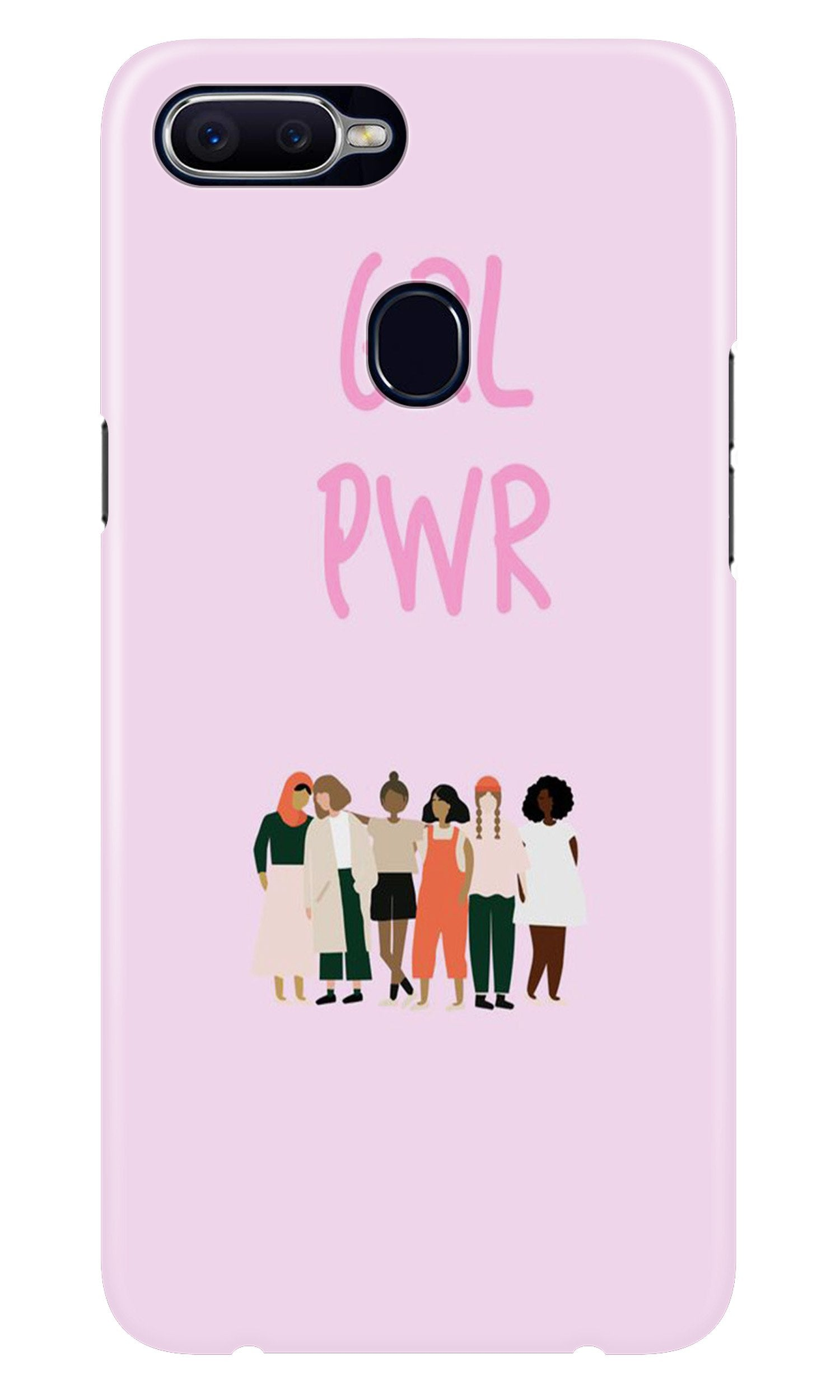 Girl Power Case for Realme 2 Pro (Design No. 267)