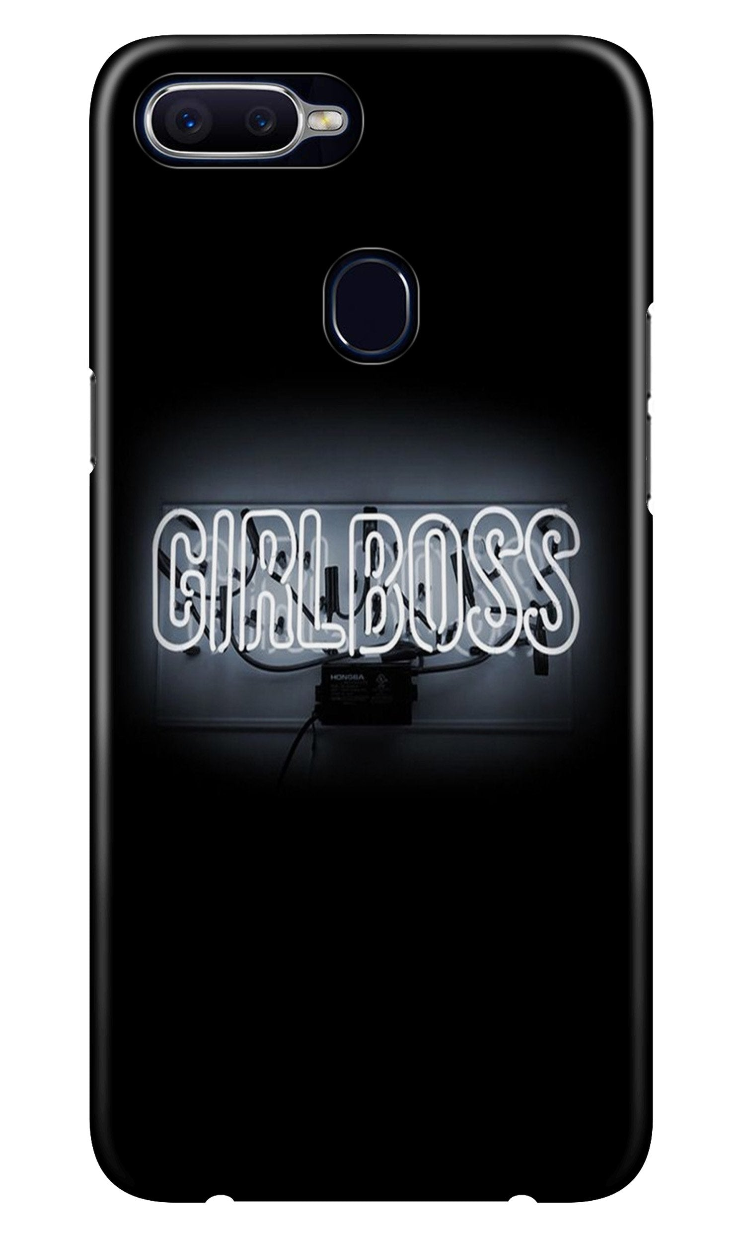 Girl Boss Black Case for Realme 2 (Design No. 268)