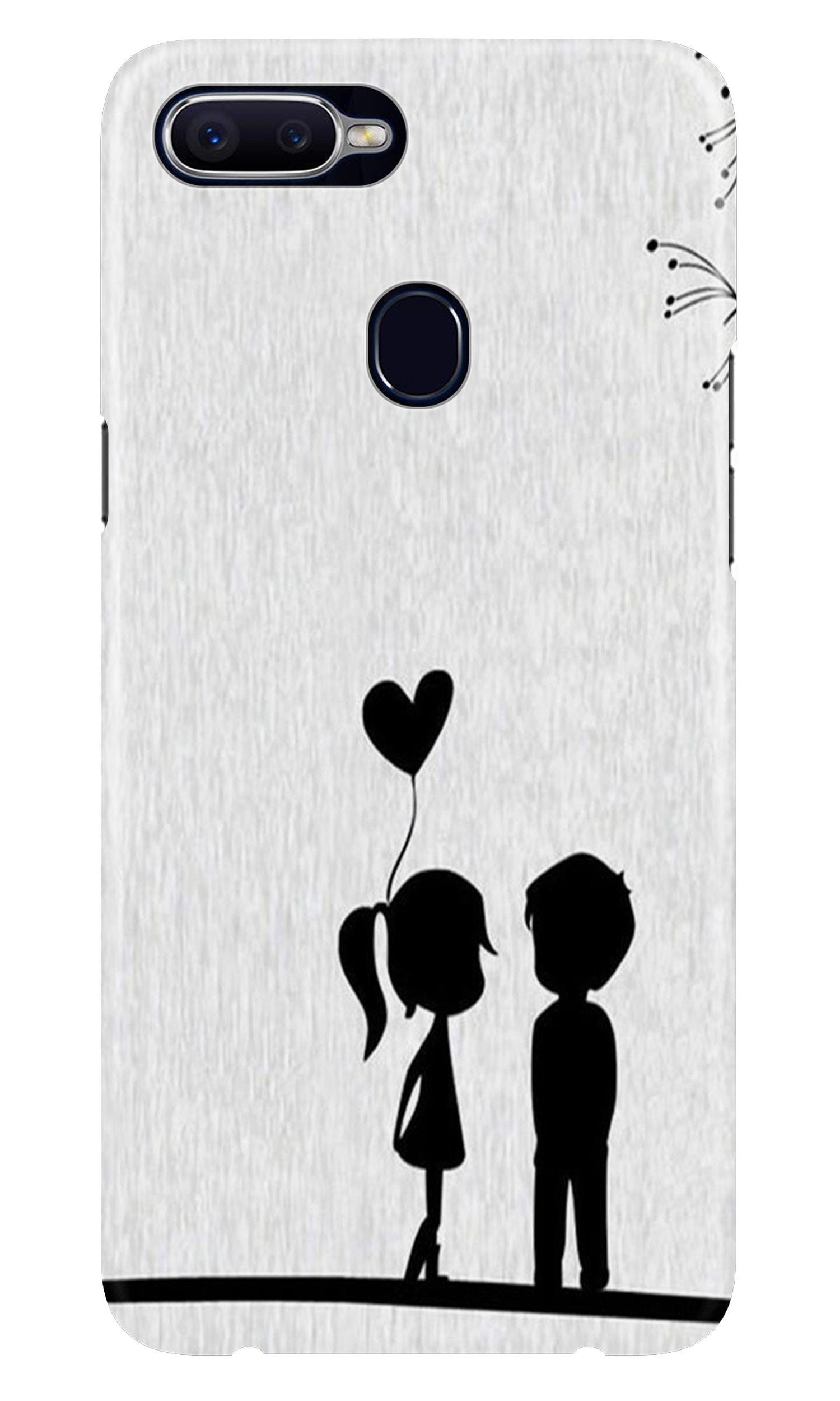Cute Kid Couple Case for Realme 2 Pro (Design No. 283)