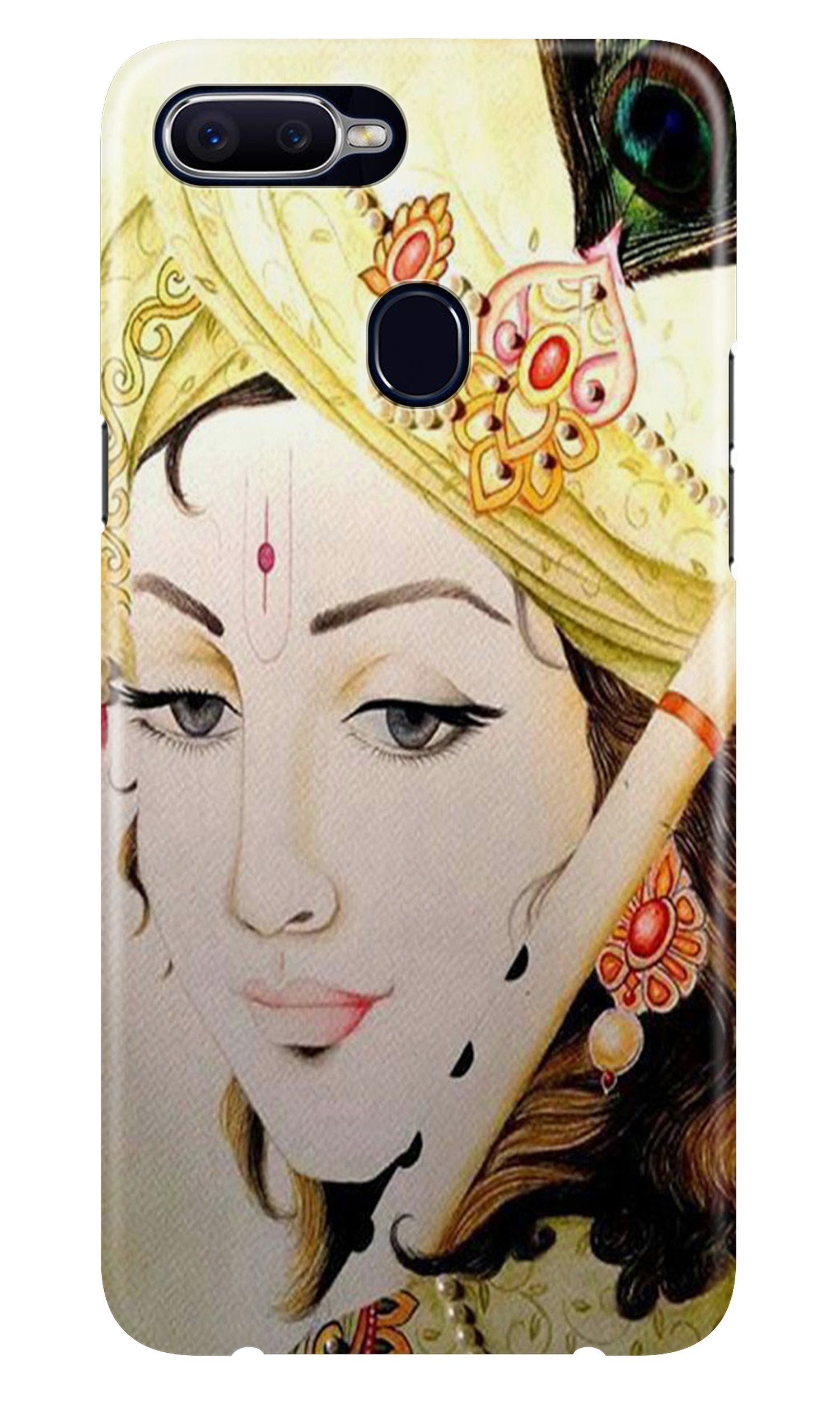 Krishna Case for Oppo A7 (Design No. 291)