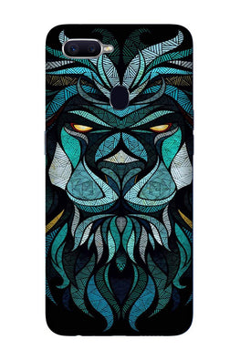 Lion Mobile Back Case for Realme 2  (Design - 314)