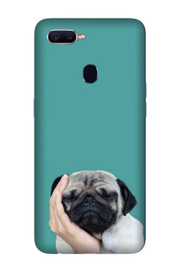 Puppy Mobile Back Case for Oppo A7  (Design - 333)