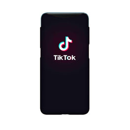 Tiktok Mobile Back Case for Oppo Find X  (Design - 396)