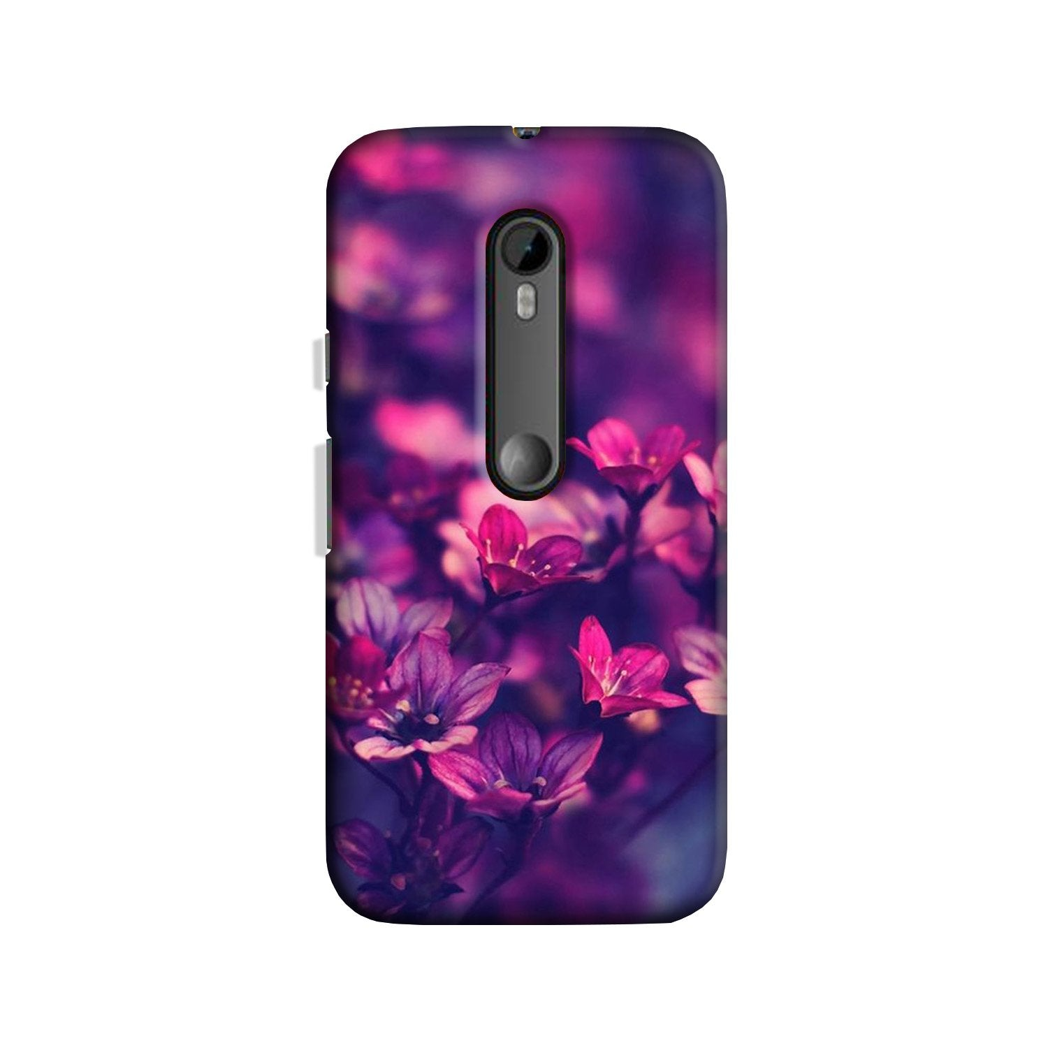 flowers Case for Moto G 3rd Gen