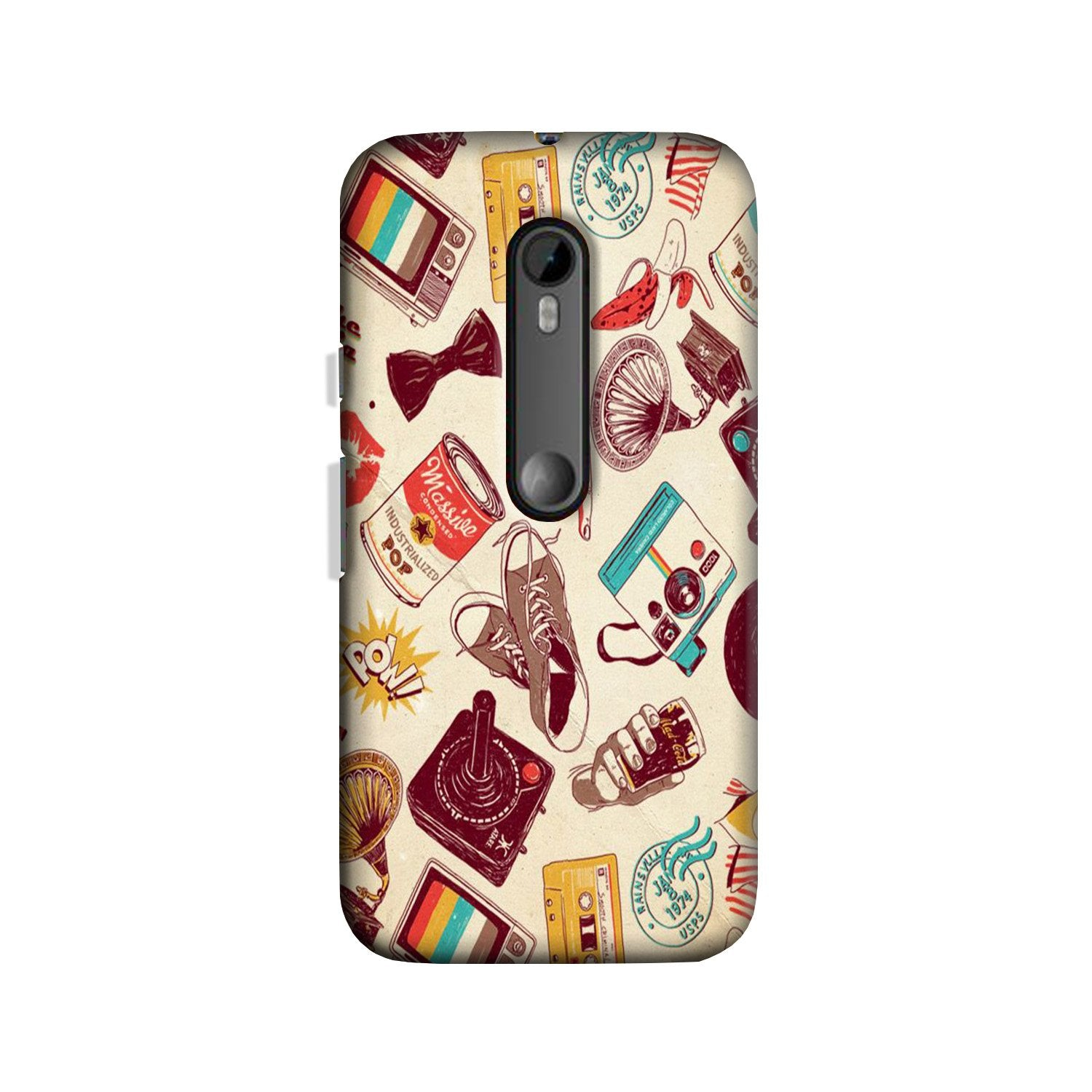 Vintage Case for Moto G 3rd Gen