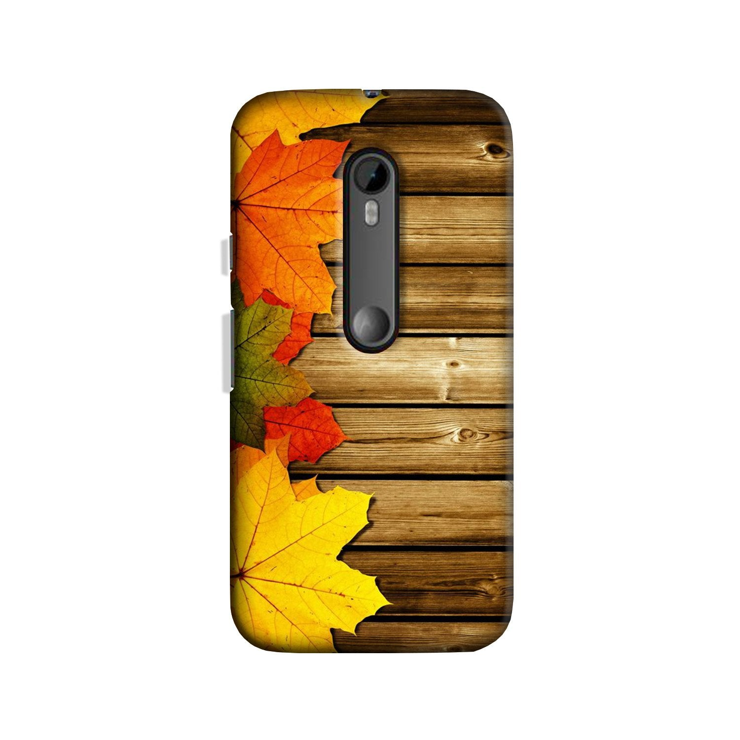 Wooden look Case for Moto G 3rd Gen