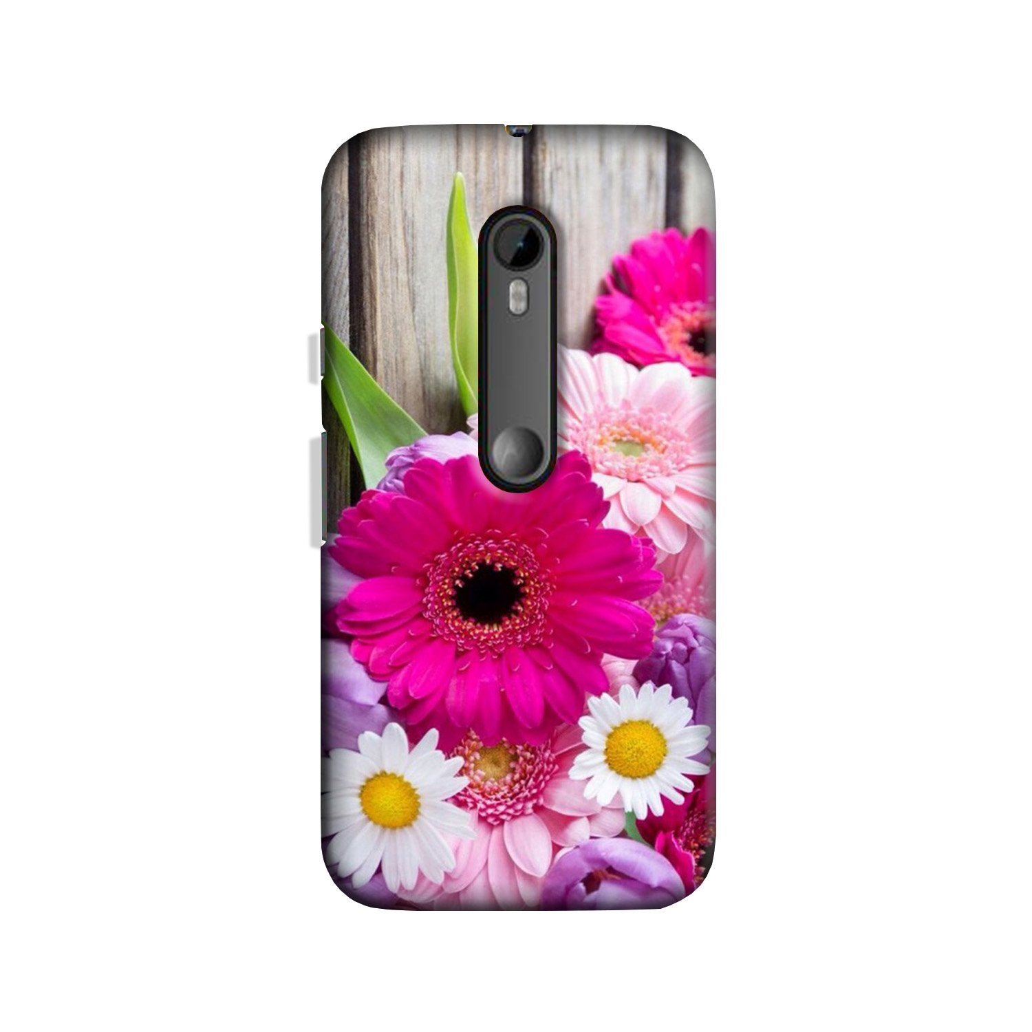 Coloful Daisy Case for Moto G 3rd Gen