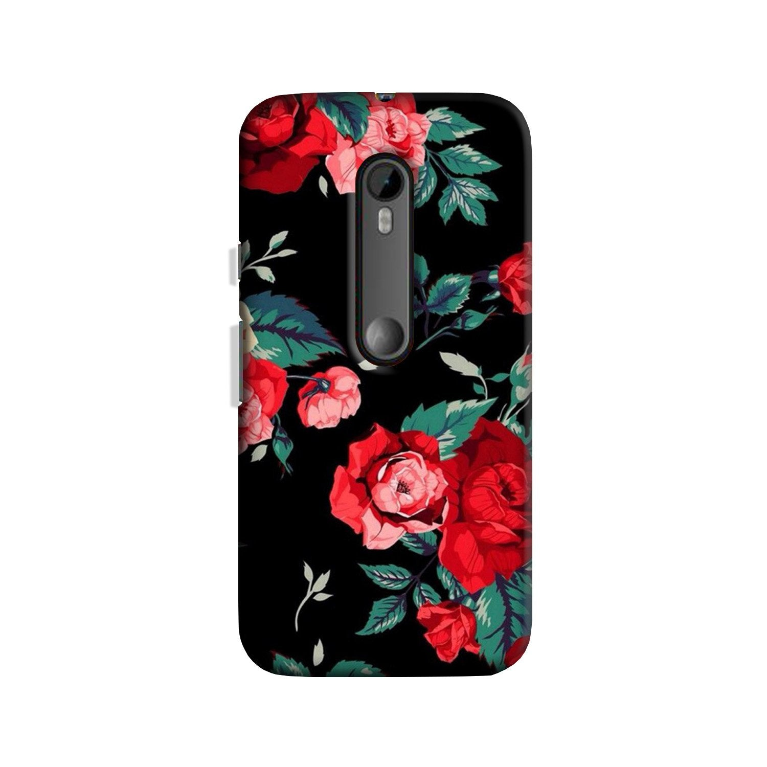 Red Rose Case for Moto G 3rd Gen