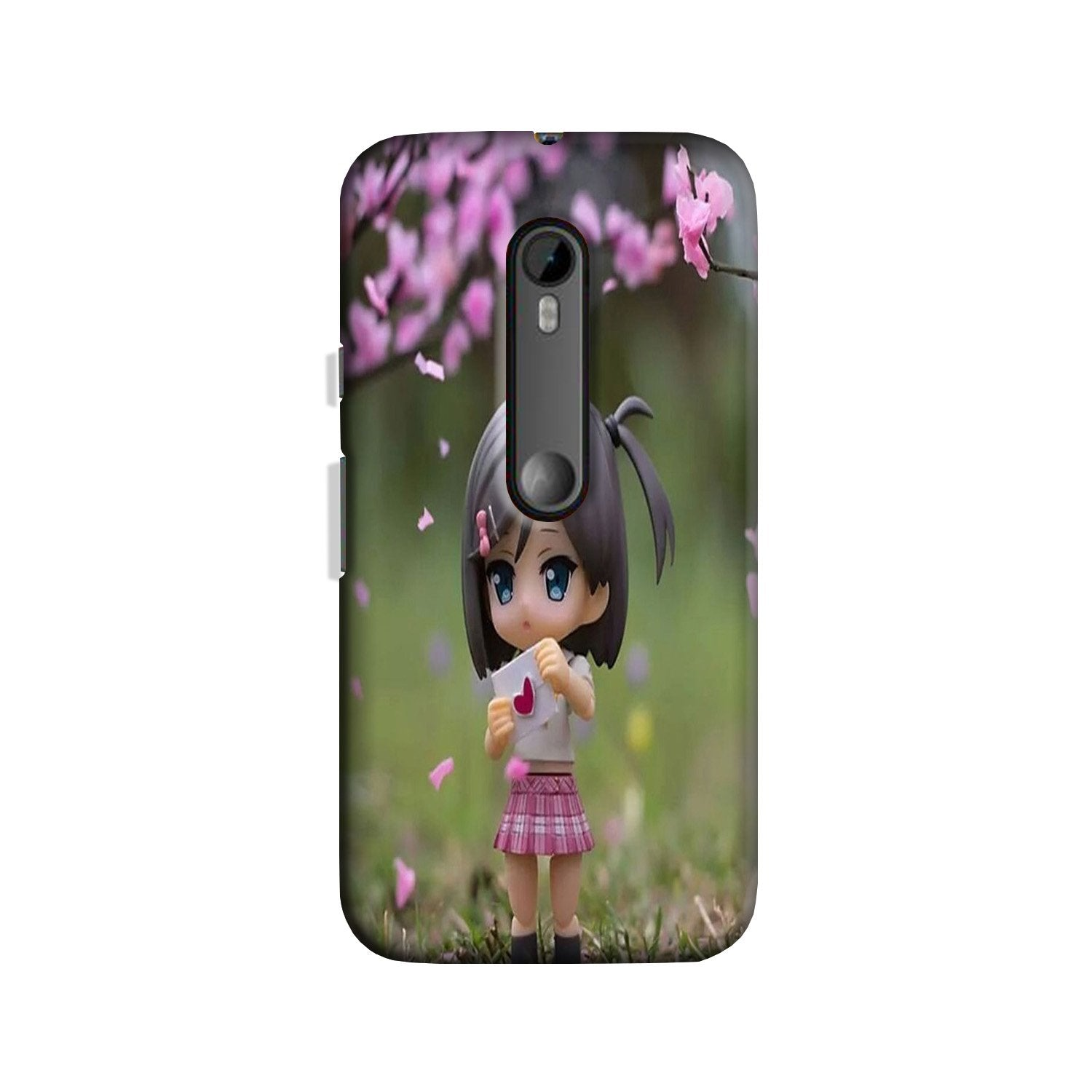 Cute Girl Case for Moto G 3rd Gen