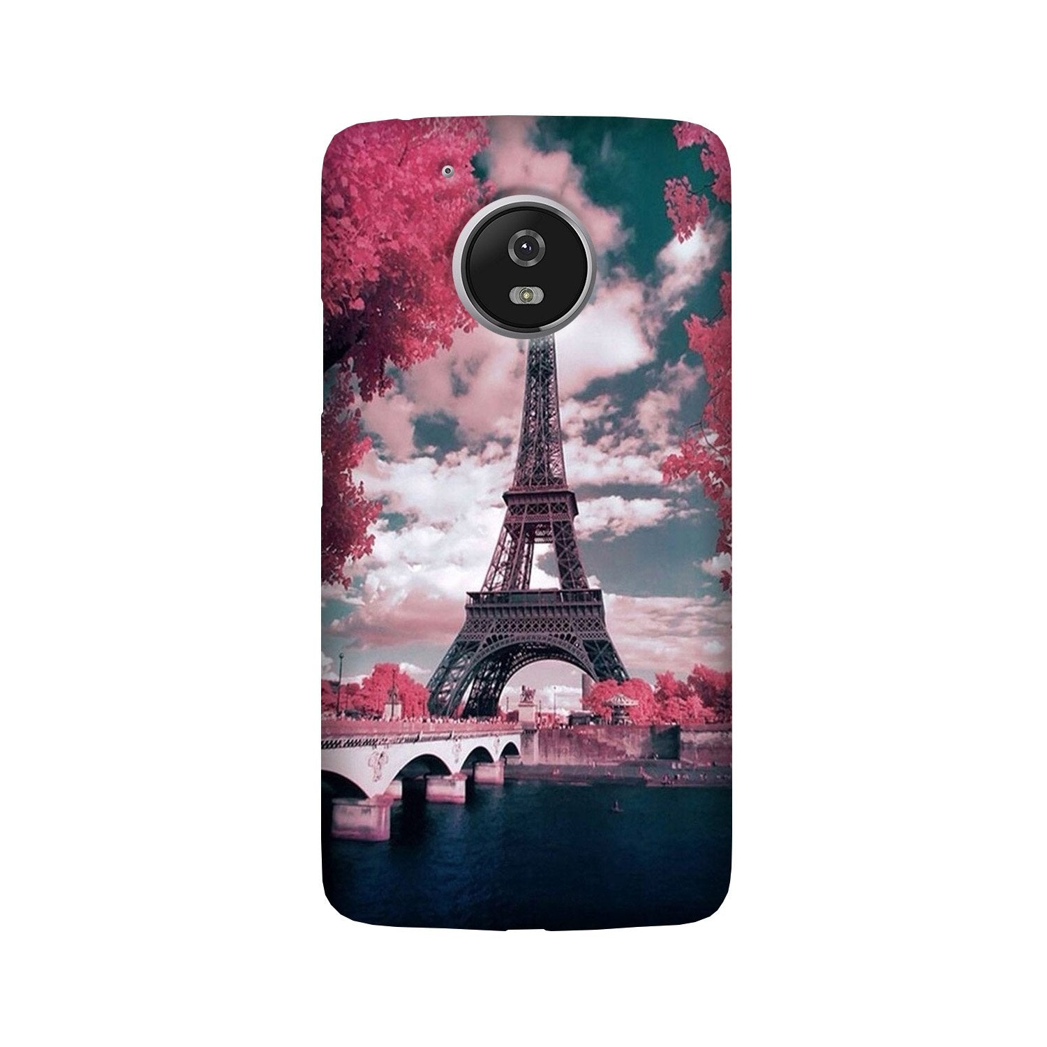 Eiffel Tower Case for Moto G5 Plus  (Design - 101)