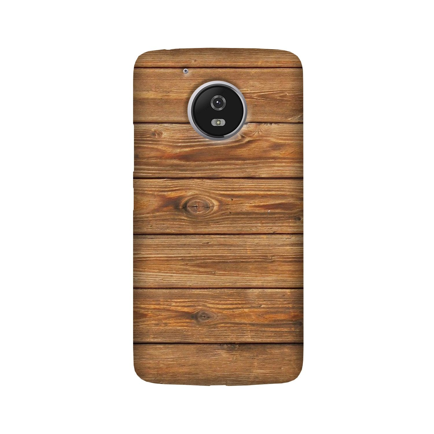 Wooden Look Case for Moto G5  (Design - 113)