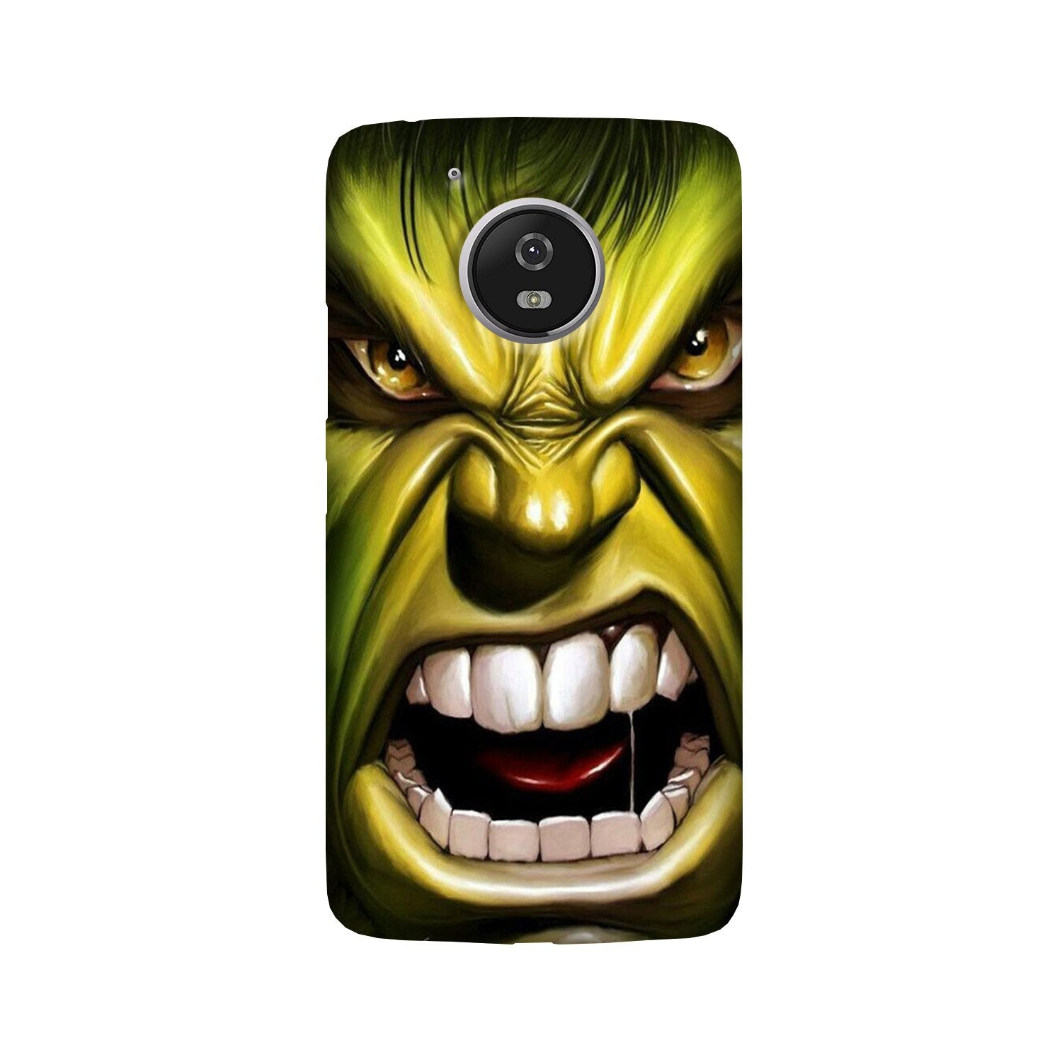 Hulk Superhero Case for Moto G5 Plus  (Design - 121)