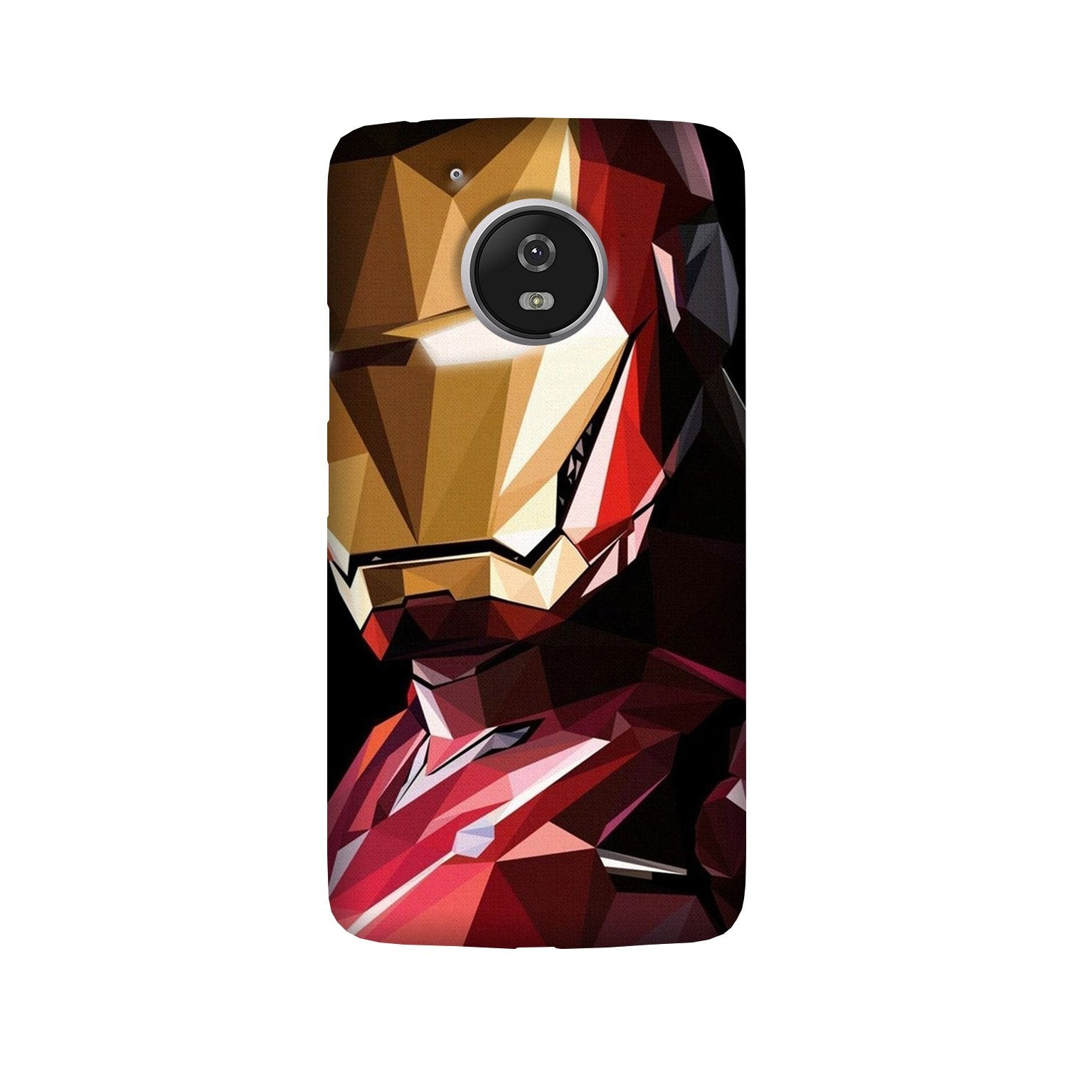 Iron Man Superhero Case for Moto G5 Plus  (Design - 122)