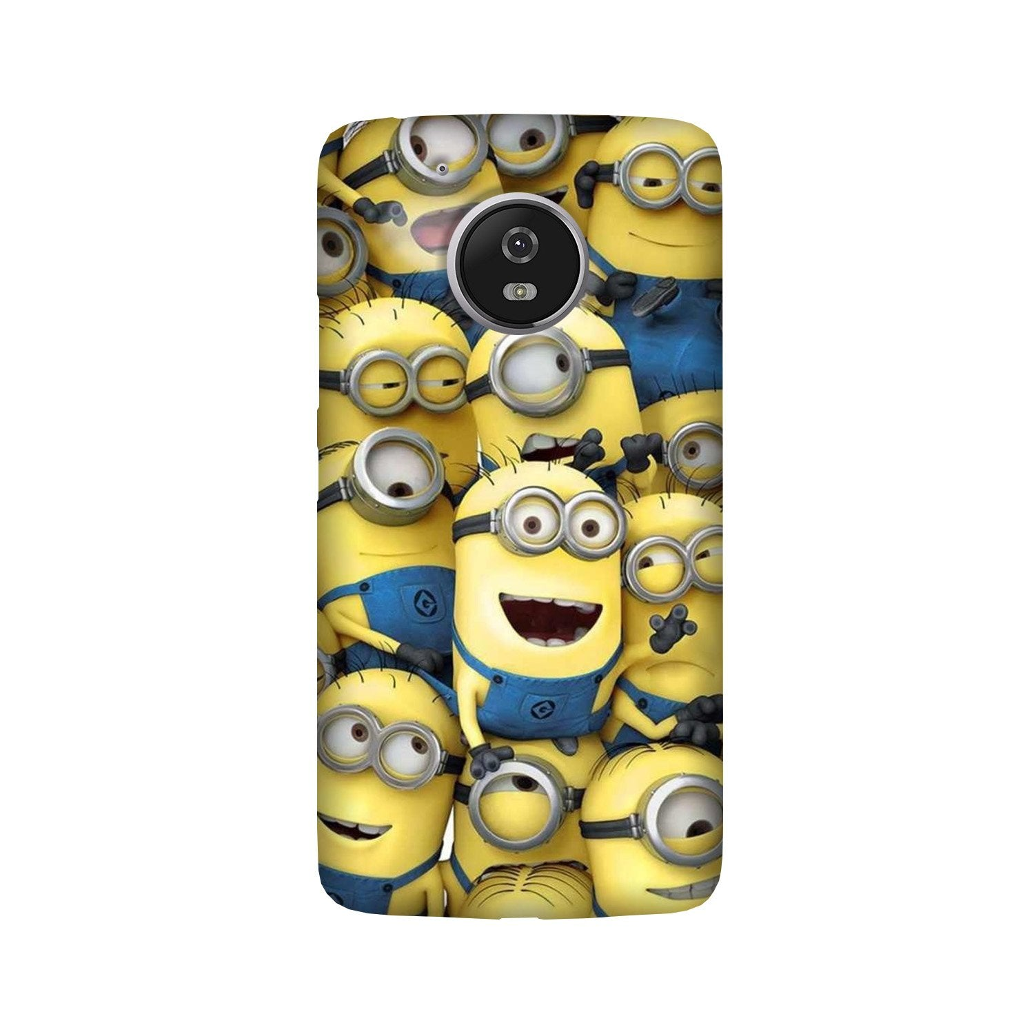 Minions Case for Moto G5  (Design - 127)