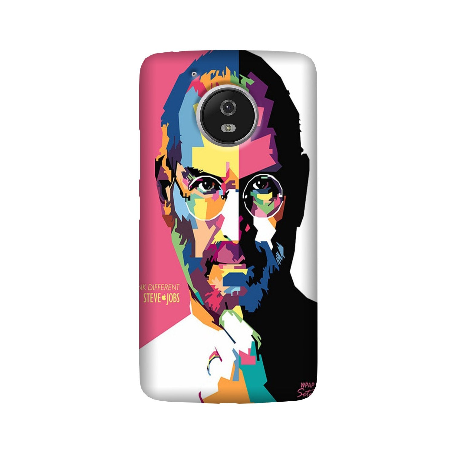Steve Jobs Case for Moto G5 Plus  (Design - 132)
