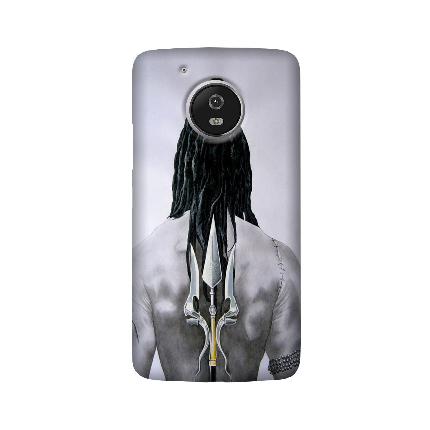 Lord Shiva Case for Moto G5  (Design - 135)